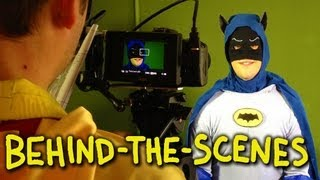 Batman 1966 tv show intro - homemade (behind the scenes)