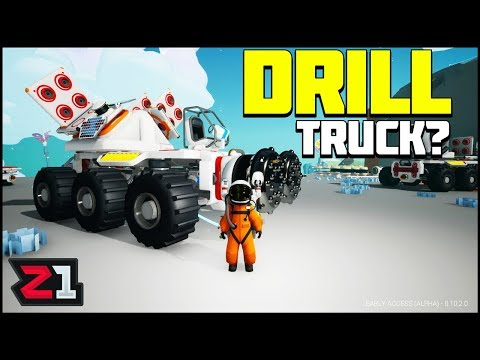Drill Truck Attempt?! More Base Work ! Astroneer Update 10 | Z1 Gaming