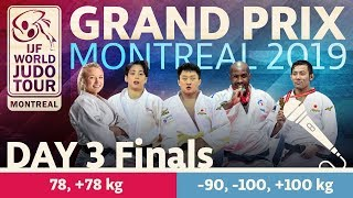 Judo Grand-Prix Montreal 2019: Day 3 - Final Block