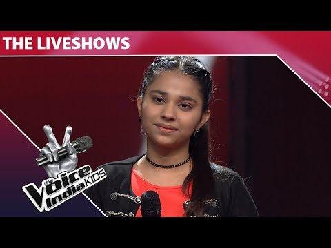 Tannishtha Puri Performs On Kyon  The Voice India Kids  Episode 21