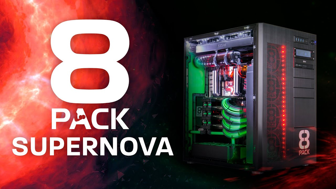 8Pack: Supernova - Extreme Overclocked PC
