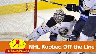 NHL Robbed off the Line