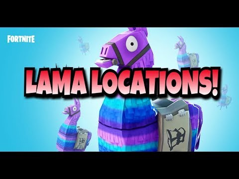 Fortnite Easy Lama Location All Known Locations For Lamas