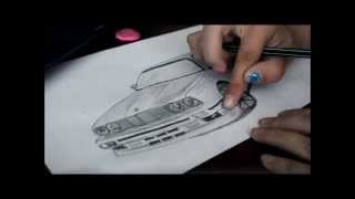 BMW e30 - speed draw
