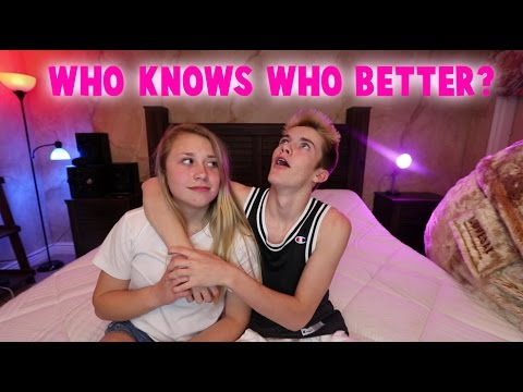 WHO KNOWS WHO BETTER CHALLENGE! (BF VS GF)