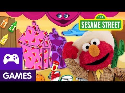 Sesame Street: Elmo the Musical: Cowboy   Game Video