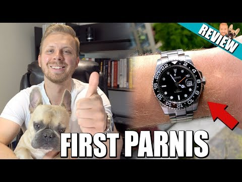 Parnis GMT $75 Watch Review (Rolex GMT Master 2 Homage)