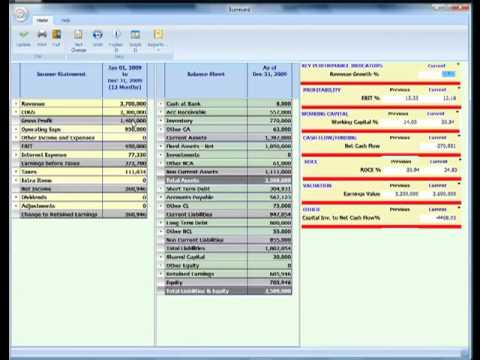 The Return On Capital Employed (ROCE) story creating performance based financial statements .mp4