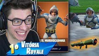I BOUGHT THE LEGENDARY SKIN OF THE SHARK MAN AND I KILLED GENERAL! Fortnite: Battle Royale