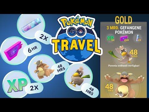 Download Youtube: EP-Event, Sternenstaub & Porenta dank Pokémon GO Travel | Pokémon GO Deutsch #482