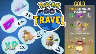 EP-Event, Sternenstaub & Porenta dank Pokémon GO Travel | Pokémon GO Deutsch #482