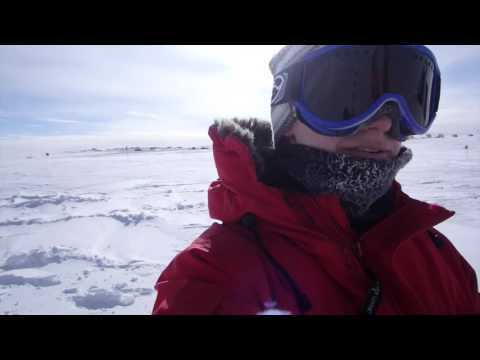 Compass at the Geographic South Pole