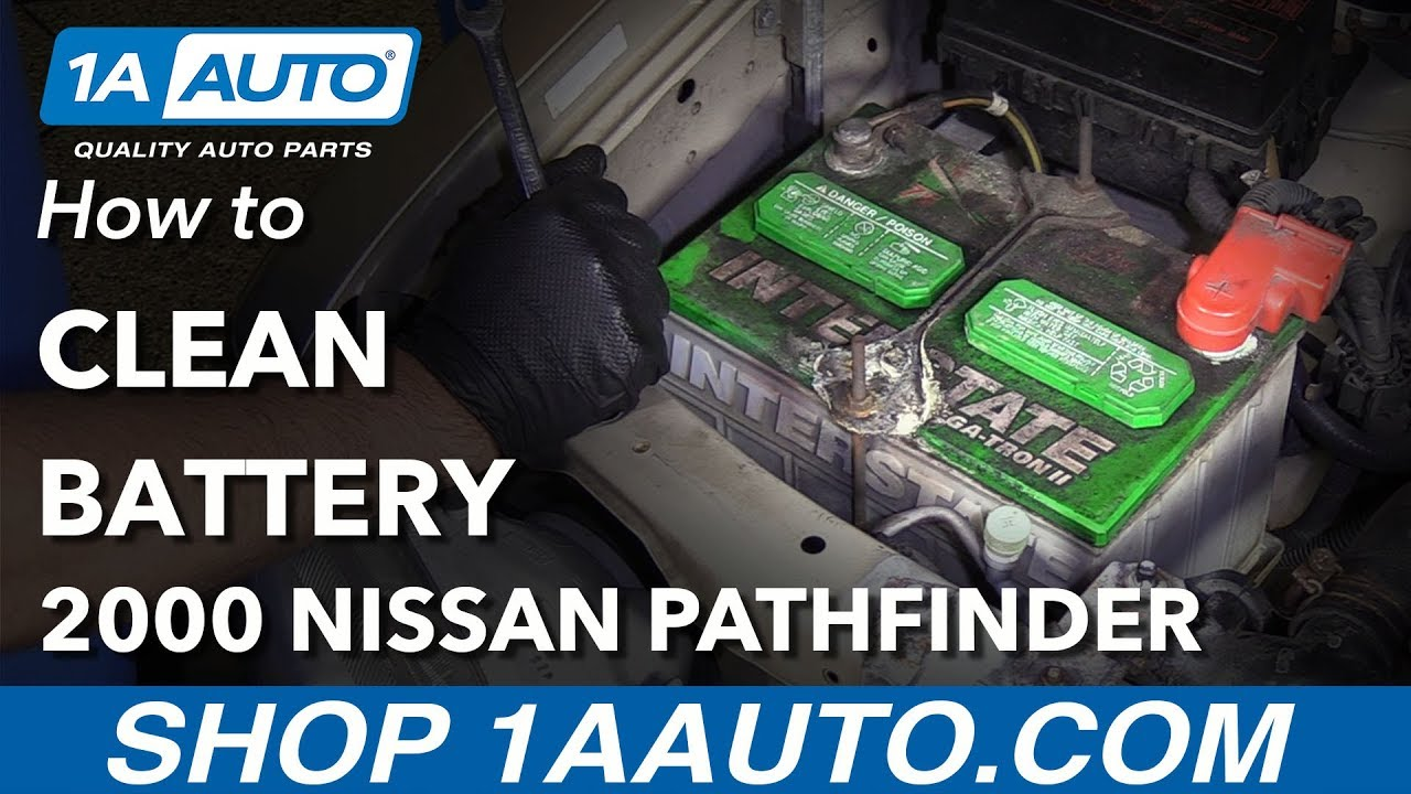 How To Clean Battery 96 04 Nissan Pathfinder