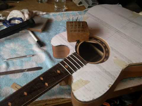 how to build an acoustic guitar youtube. Black Bedroom Furniture Sets. Home Design Ideas