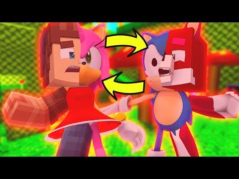 BECOMING SONIC THE HEDGEH0G IN MINECRAFT!