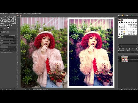 Darktable: RAW-File zu [Instagram] X Pro II-Filter - Gimp 2.10.10 thumbnail