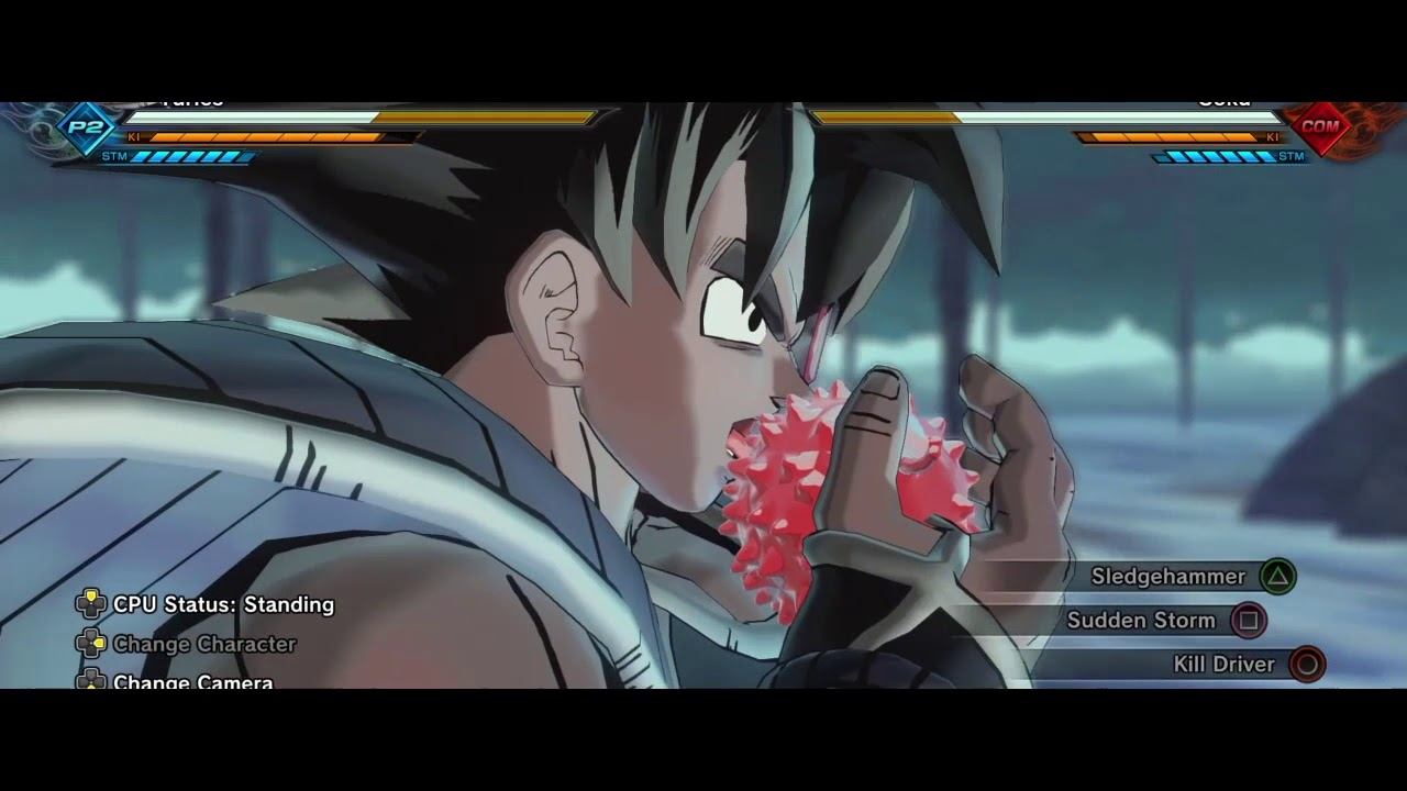 DBZ Movie 3 Recreation: The Christmas Tree Of Might - YouTube