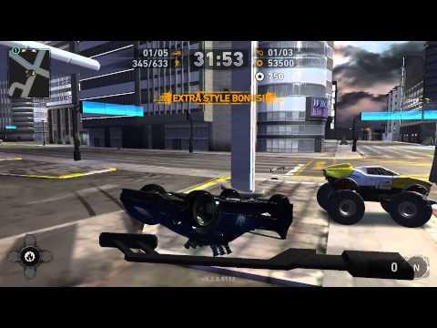 Carmageddon: Reincarnation - Bleak City (Electric Blue) [HD] (Stainless Games) (2014) (Pre Alpha)