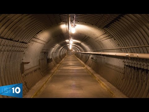 10 Most Amazing Bomb Shelters in the World | LIST KING
