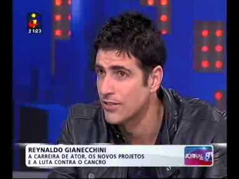 Entrevista Judite Sousa a Reynaldo Gianechinni - TVI Jornal das 8