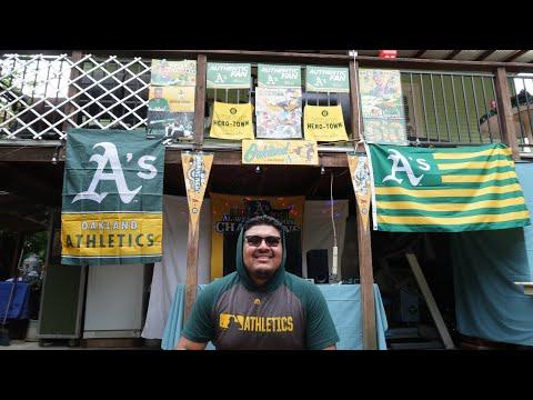 I Turned My Backyard Into My Own Oakland Coliseum