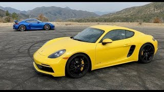 2018 Porsche 718 Cayman Gts (With A Gt4 Refresher) - Two Takes