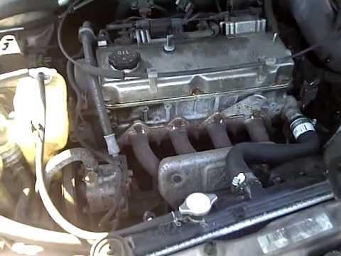 Mitsubishi Galant 4 cylinder 19992003 engine transmission stratus sebring eclipse  YouTube