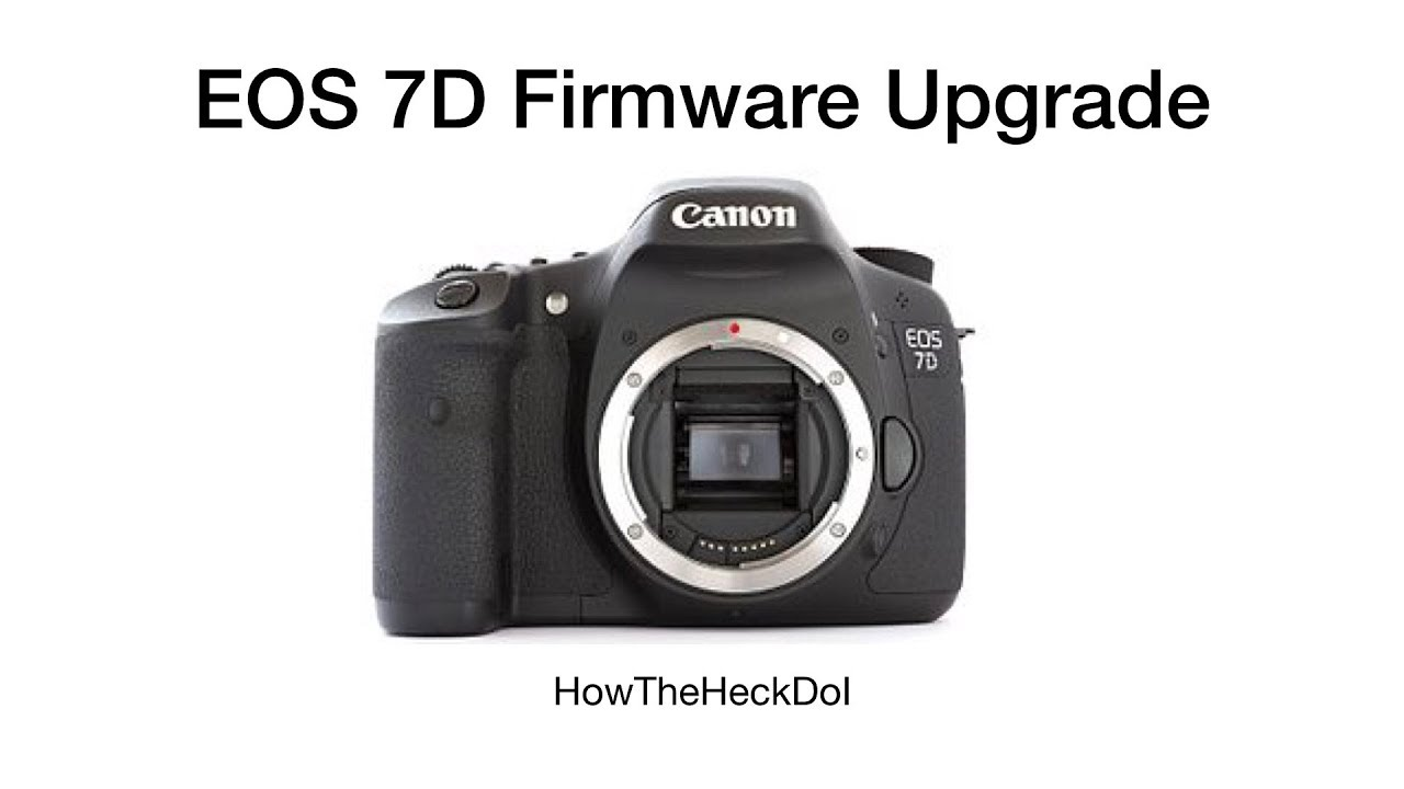 Canon to enhance eos 7d with new firmware update canon.