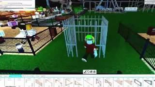 Roblox - France Comment obtenir l'accomplissement emprisonné dans le thème Park Tycoon 2