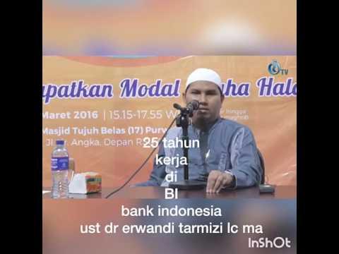 25 tahun kerja di bank indonesia