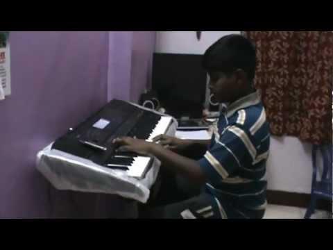 Aparajithan playing 'Daya kar dan Vidya ka...