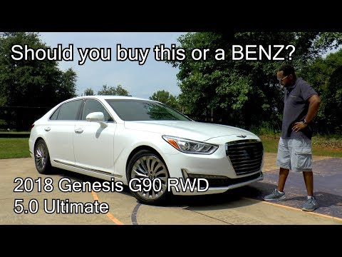 2018 Genesis G90 RWD 5.0 Ultimate Review This or a BENZ
