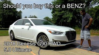 2018 Genesis G90 RWD 5.0 Ultimate Review - This or a BENZ?