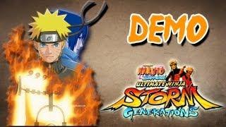 Demo - Naruto Shippuden Ultimate Ninja Storm Generations (Xbox 360)