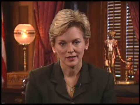 Michigan Governor Jennifer Granholm on Vision and Values 8 25 03