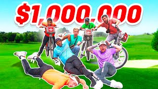 Sidemen Golf but there's $1,000,000 on the line...