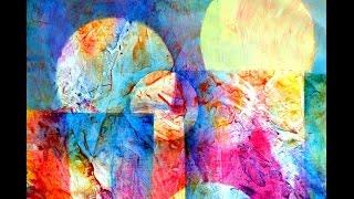 Acryltechniken kombinieren   Combining acrylic techniques  Nr 1 thumbnail
