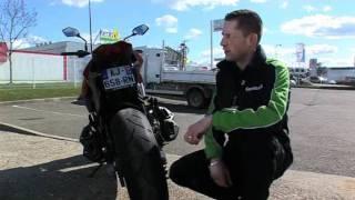 Reportage Kawasaki Z1000 2010.