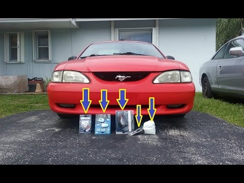 Cheap First Mods For The Mustang Youtube