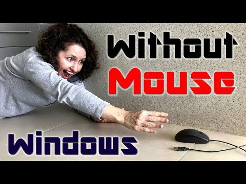 Mum Tries Out Windows 10 Without A Mouse! - Fall Creators Update (2017)