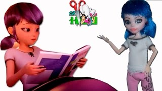 ПИЖАМА ЛЕДИ БАГ ДЛЯ КУКОЛ/ МАРИНЕТТ/ООАК Miraculous LadyBug//Muza Rukodeliya 🌺