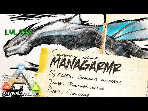 MANAGARMR FROST DRAGON THE HARDEST TAME IN MY LIFE - ARK SURVIVAL EVOLVED EXTINCTION EXPANSION #19