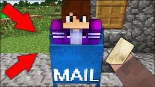 Я НАШЁЛ ТАЙНЫЙ ПРОХОД В ПОЧТОВОМ ЯЩИКЕ ДРУГА В МАЙНКРАФТ 100 ТРОЛЛИНГ ЛОВУШКА Minecraft