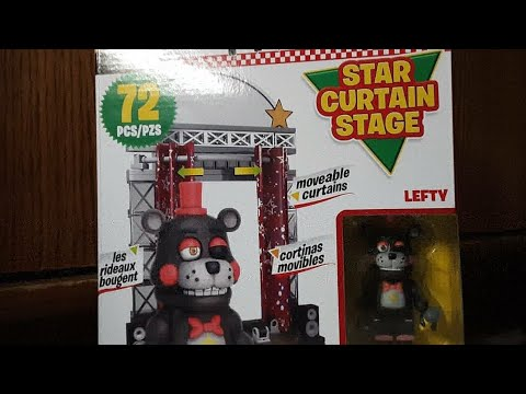 2020 Five Nights At Freddy's Construction ALL 6 SETS LEGO FNAF6 STAGE STAR LEFTY