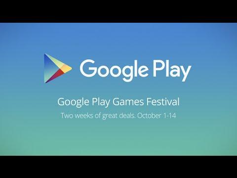 Google Play Games Festival Uk 1 Youtube