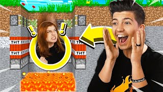 PRESTONPLAYZ TROLLS ME IN MINECRAFT HIDE AND SEEK! (MCPE)