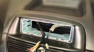Installazione Radio Kenwood su Fiat Punto Classic 1080p HD