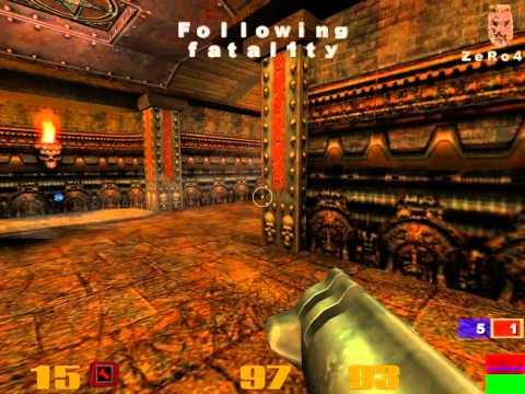 QuakeCon 2001 - Quake 3 Grand Final - Fatal1ty vs ZeRo4 - pt 2 of 2  