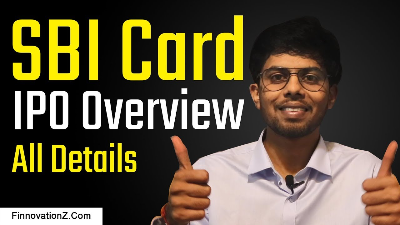 SBI Card IPO Overview   In Hindi