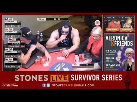Survivor Series Event #1 - $1/$3 No Limit Hold 'Em - April 16, 2016